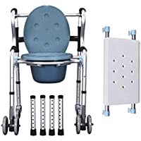 Folding Commode Chair with Silla con Orinal
