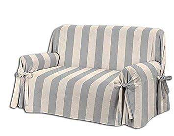 HomeLife – sillón/Sofá de Dos o Tres Puestos – Funda Elegante con diseño A