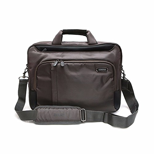 American Tourister Stager Laptop Shoulder Bag M 83T18005 Gray + Blue