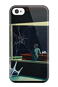 THERESA CALLINAN's Shop Awesome Humor Artistic Drawing Abstract Artistic Flip Case With Fashion Design For Iphone 4/4s