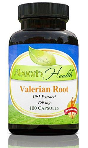 Valerian Root Extract 450mg Capsules