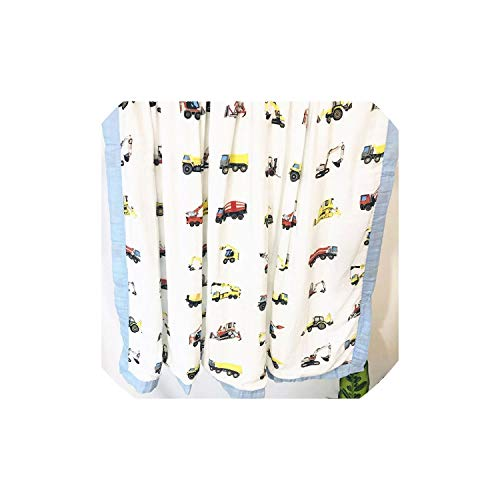 Blanket Muslin Tree Swaddle Better Baby/Bamboo Blanket Infant,Four Layer Crane ()