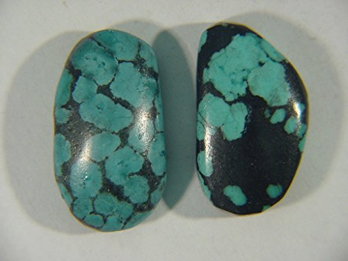 Genuine Natural Chinese Turquoise Lapidary Freeform Cabochon 9493C h