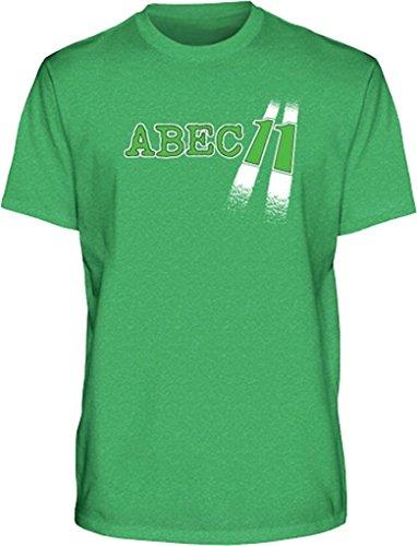Abec11 Highway Logo Xlarge Green Short Sleeve