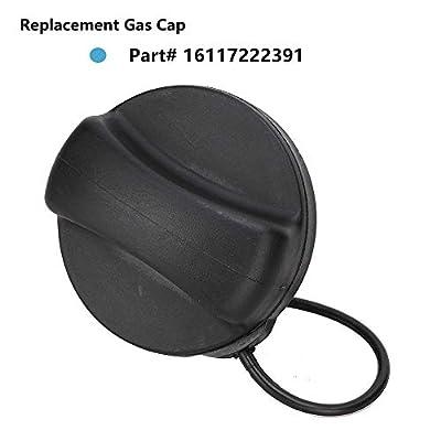 Gas Cap, Fuel Tank Cap Sealing Inner Cover Replace 16117222391 Mini Cooper for BMW E39 E46 E60 E63 E65 E66 E70 E71 E90 F01 F02 F07 128i 135i 325i 325xi 328i 328xi And More: Automotive