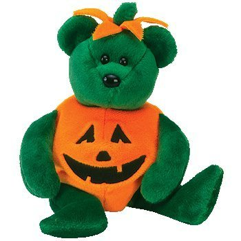 Ty Beanie Babies Tricky - Halloween Bear]()
