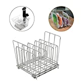 Feileng Stainless Steel Sous Vide Rack with Adjustable Slow Cooker Stainless Steel Food Rack