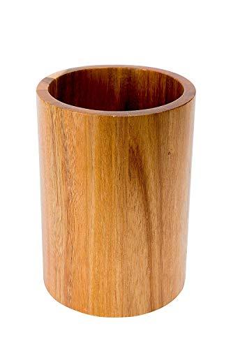 Airmoon Moments Acacia Wood Utensil Holder - Brown by Airmoon