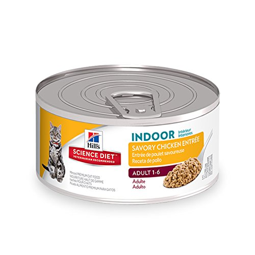 Hill's Science Diet Adult Indoor Cat Food, Savory Chicken En