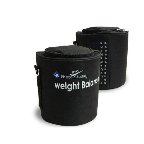 LimoStudio 2 x Photo Video Studio Light Stand Boom Light Sand Bag Saddle Bag with Weight Measurement, AGG356