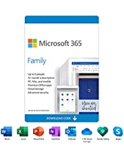 Microsoft 365 Family | 12-Month Subscription, up to 6 people | Premium Office apps | 1TB OneDrive cloud storage | PC/Mac/iOS/Android/Chrome Download