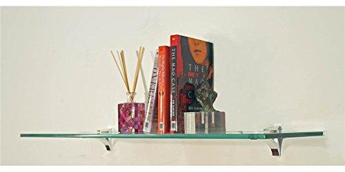 12 inch floating glass shelves - 4