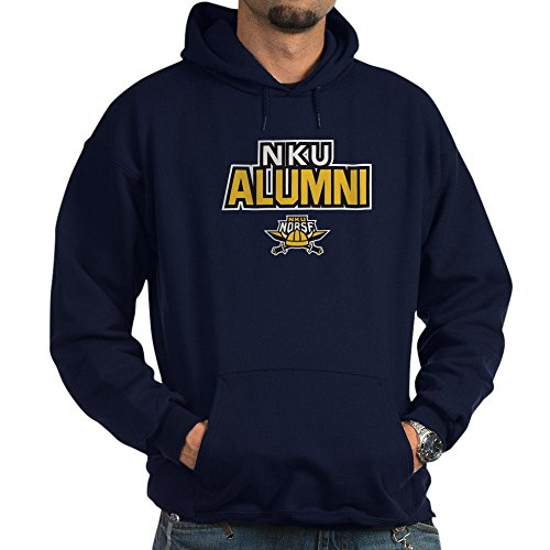 CafePress Northern Kentucky NKU Norse Alumni Sweatshirt Pullover Hoodie, Classic & Comfortable Hooded Sweatshirt Navy (Alumni Clothing)