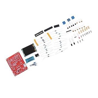 MagiDeal Kit de medidor multifuncional para bricolaje, GM328 Transistor Tester, NPN PNP Diodes Capacitor SCR FET Resistencia LCD Detector de Pantalla: ...