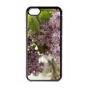 LINMM58281Diy Lilac iphone 5/5s Hard Shell Case Fashion Style UN218897MEIMEI
