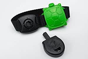 Safety Turtle Swimming Pool Alarm w/ Green Wristband