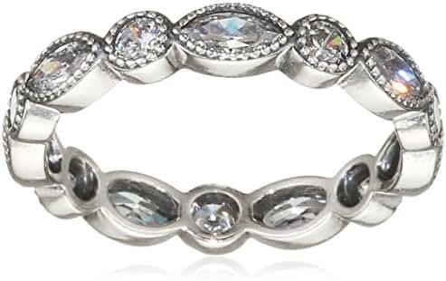 Pandora 190940CZ-50 Ring Alluring Brilliant Marquise, Clear Cubic Zirconia