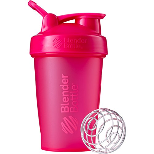 Blender Bottle Classic 20 oz. Shaker with Loop Top - Pink/Pink