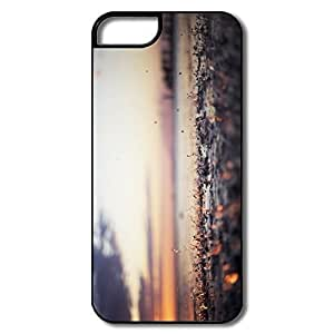 IPhone 5S Cover, Let It Rain Cases For IPhone 5 5S - White/black Hard Plastic Kimberly Kurzendoerfer