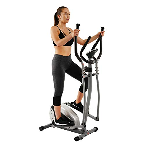 Magnetic Elliptical Machine Trainer by Sunny Health & Fitness - - Machines Cardio