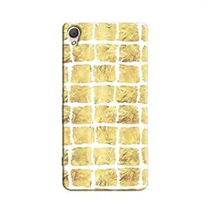 Cover It Up - Yellow Rock White Break Xperia M4 Hard Case