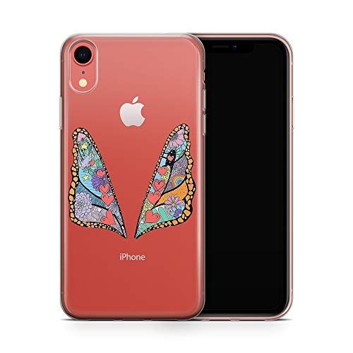 iPhone XR Case, Aertemisi Clear TPU Soft Slim Flexible Silicone Cover Phone Case for Apple iPhone XR (6.1'') - Taylor