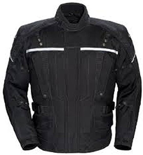Tour Master Transition Series 2 Women's Textile Street Racing Motorcycle Jacket - Black / (Transition Series 2 Jacket)