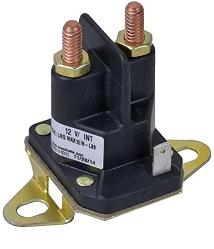 New Relay (New OEM Trombetta Solenoid Relay Switch 812-1221-211, 93265-9, 93265WR, Replaces Stens 435-700)