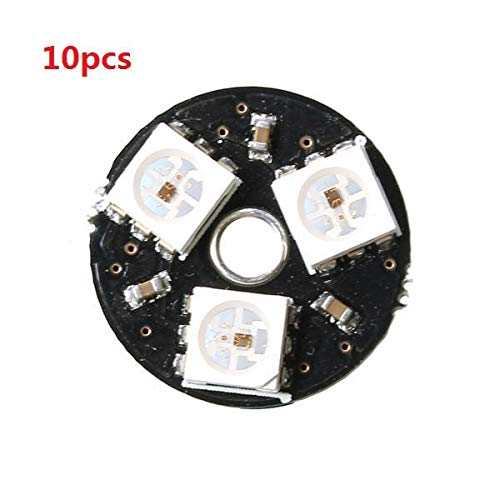 10pcs -3bit WS2812 RGB LED Full Color Drive LED Light Circular Smart Development Board for Arduino by CJMCU (Image #4)