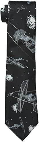 Star Wars Men's Battle Scene Tie