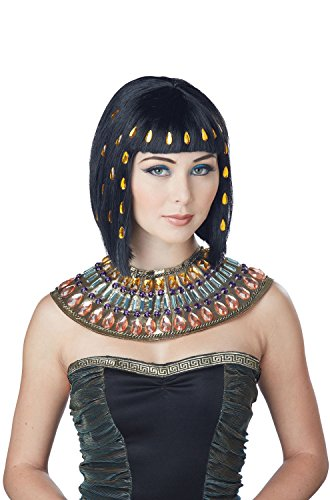 California Costumes Women's Jewel of the Nile Wig, Black, One Size (Jewel Of The Nile Costume)