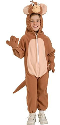 In Fashion Kids Unisex Child's Jerry Halloween Costume Size ( Med 5-7 -
