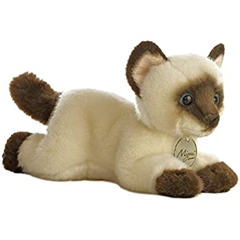 Aurora World Miyoni Siamese Cat Plush, 8
