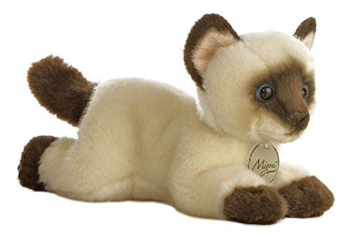 (Aurora World Miyoni Siamese Cat Plush, 8