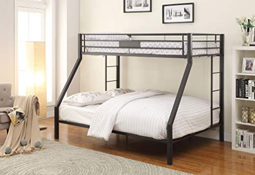 - ACME Limbra Black Sand Twin XL over Queen Bunk Bed