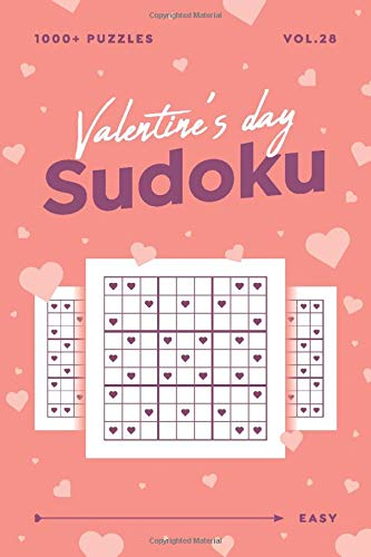 Valentine S Day Sudoku Vol 28 1000 Easy Sudoku Puzzle Books For Adults Valentine Gift For Her Or Him Amazon Co Uk Mind Puzzle Puzzle Mind Sudoku Valentine S Day Puzzles 9798634502366 Books