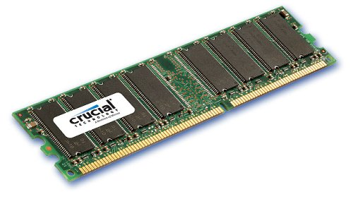 crucial technology 512mb 184 pin pc2700 333mhz dimm ddr ram at