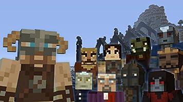 Minecraft - DLC,  Skyrim Mash-up Pack - Wii U [Digital Code]