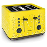 Morphy Richards Prism 4-Slice Toaster (Yellow)