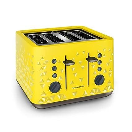 Morphy Richards Prism 4 Slice Pop Up Toaster
