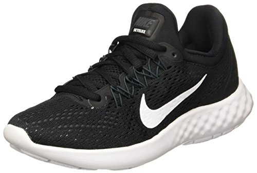 White Running Lunar NIKE Round Shoes Lace Skyelux Womens Toe anthracite Black up qwqv7Z