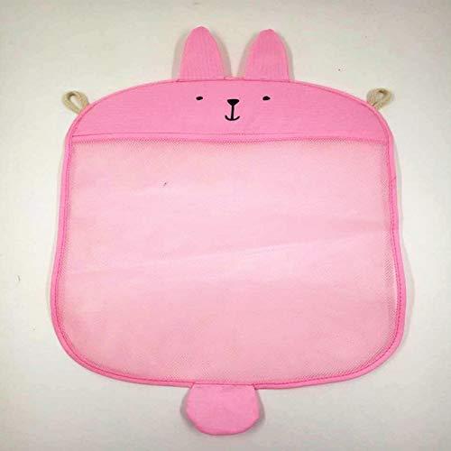 Autumn Water Bath Toy Organizer, Baby Bathroom mesh Bag for Bath Toys Bag s Basket for Toys net Cartoon Animal Shapes Waterproof Cloth