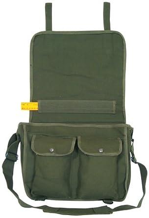 Amazoncom Danish Style School Bag Olive Clothing