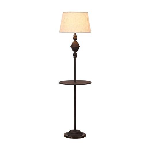 Lámparas de Pie Lámpara Vertical Piso American Style Hierro ...