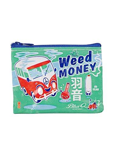 - Blue Q - Weed Money Coin Purse (QA545)