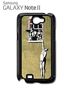 Banksy Naked Man Husband and Wife Cell Phone Case Samsung Note 2 White