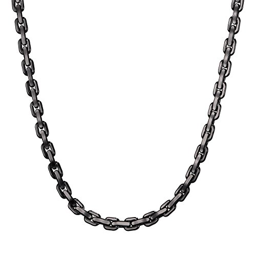 6mm Box Chain Necklace - 6
