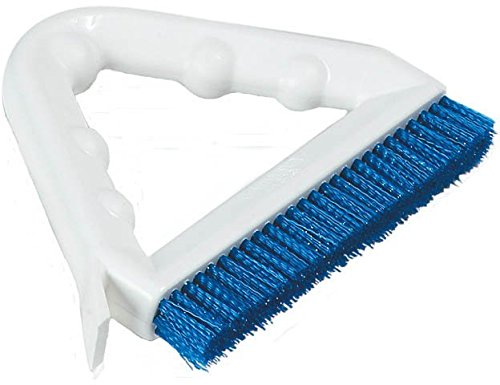 Carlisle 4132314 Sparta Tile and Grout Brush with Scraper, 9'', Blue by Carlisle (Image #7)