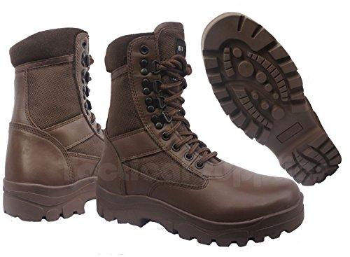 CADET BOOTS BROWN LEATHER / ASSAULT / COMBAT BROWN / ATC/ ACF/ CCF BOOTS Ejp8VM5Px