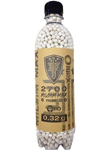 Elite Force Milsim Max Bio White 0 32 Gram 2700 Ct Bottle